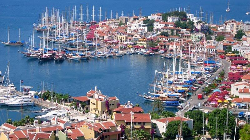 Port w Marmaris